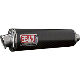 Yoshimura RS-3 EPA Compliant Slip-On Exhaust - Carbon Fiber - Yoshimura RS-3 Slip-On Exhaust - Titanium