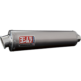 Yoshimura RS-3 EPA Compliant Slip-On Exhaust - Titanium - Yoshimura RS-3 Slip-On Dual Exhaust - Polished Stainless Steel