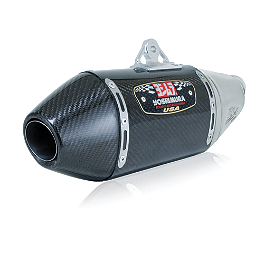 Yoshimura RS-4 Slip-On Exhaust - Carbon Fiber - 2012 Kawasaki ZX600 - Ninja ZX-6R Yoshimura Steering Stem Nut