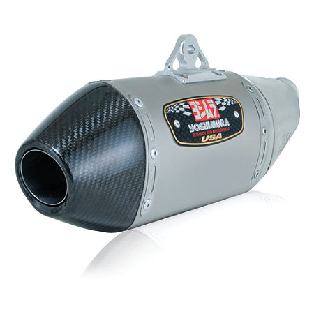 Yoshimura RS-4 Slip-On Exhaust - Titanium With Carbon Fiber End Cap - Main