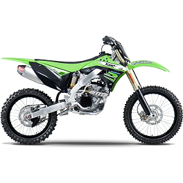 Yoshimura RS-4 Slip-On Exhaust - Stainless Steel - 2012 Kawasaki KX250F Yoshimura Quiet Insert - RS-4 - 94dB