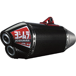 Yoshimura RS-4D Pro Series Full System Exhaust - Titanium/Carbon Fiber - 2011 Honda CRF450R Yoshimura Oil Filler Plug - Red