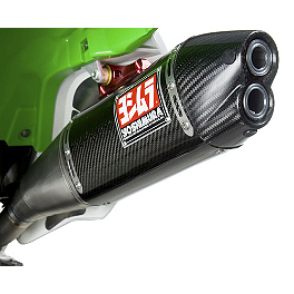 Yoshimura RS-4D Full System Exhaust - Carbon Fiber - 2007 Yamaha YZ250F Yoshimura RS-2 Comp Series Full System Exhaust
