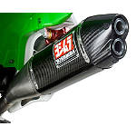 Yoshimura RS-4D Full System Exhaust - Carbon Fiber - Kawasaki KX250 Dirt Bike Exhaust