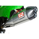 Yoshimura RS-4D Pro Series Full System Exhaust - Titanium/Titanium - Kawasaki KX250 Dirt Bike Exhaust