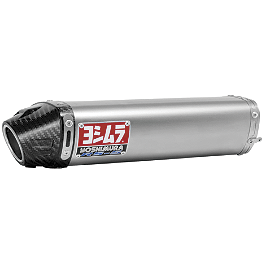 Yoshimura RS-5 Slip-On Exhaust - Titanium - 2008 Honda CBR600RR Woodcraft Frame Slider Kit