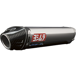Yoshimura RS-5 EPA Compliant Slip-On Exhaust - Stainless Steel With Carbon Fiber End Cap - 2010 Honda CBR600RR Yoshimura RS-5 Slip-On Exhaust - Stainless Steel