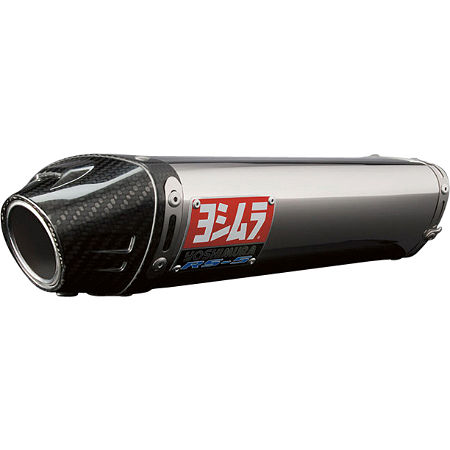 Yoshimura RS-5 EPA Compliant Slip-On Exhaust - Stainless Steel With Carbon Fiber End Cap - Main