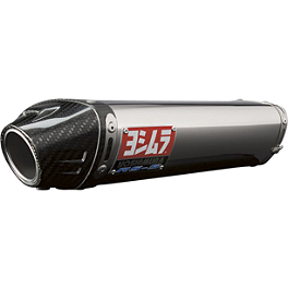 Yoshimura RS-5 Slip-On Exhaust - Stainless Steel - Yoshimura RS-5 EPA Compliant Slip-On Exhaust - Stainless Steel With Carbon Fiber End Cap