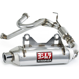 Yoshimura RS-8 3/4 Exhaust System - Stainless Steel - 2011 Can-Am COMMANDER 800R Big Gun Evo Sport Utility Dual Complete Exhaust
