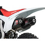 Yoshimura RS-9D Full System Dual Exhaust - Titanium/Carbon Fiber - Honda GENUINE-ACCESSORIES-SLIP-ONS Dirt Bike honda-genuine-accessories