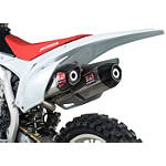 Yoshimura RS-9D Full System Dual Exhaust - Titanium/Titanium - Honda GENUINE-ACCESSORIES-SLIP-ONS Dirt Bike honda-genuine-accessories