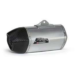 Yoshimura RS-9 Slip-On - Stainless/Aluminum - Two Brothers M-2 Slip-On Exhaust - Aluminum