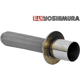 Yoshimura Spark Arrestor For RS-3 & TRS - 2009 Kawasaki KX450F Yoshimura RS-4 Pro Series Full System Exhaust - Titanium/Carbon With Carbon Fiber End Cap