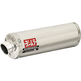 Yoshimura RS-3 Comp Series Slip-On - Stainless Steel - 1995 Yamaha WARRIOR HMF Performance Series Slip-On Exhaust - Brushed