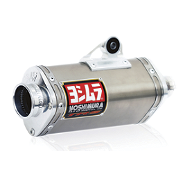 Yoshimura TRS Comp Series Full System Exhaust - Stainless Steel - 2012 Honda CRF100F Yoshimura TRS Comp Series Full System Exhaust - Stainless Steel