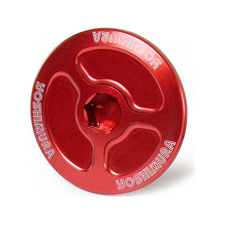 Yoshimura Large Engine Plug - Red - Main