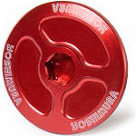 Yoshimura Large Engine Plug - Red - Yoshimura Dirt Bike Motorcycle Parts