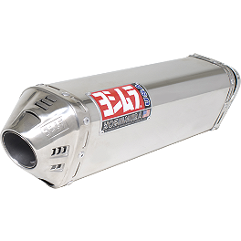 Yoshimura TRC Full System Exhaust - Stainless Steel - 2006 Suzuki GSX-R 600 Yoshimura R-55 Slip-On Exhaust - Stainless Steel