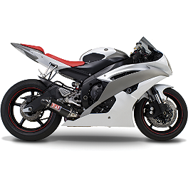 Yoshimura TRC Slip-On Exhaust - Carbon Fiber - 2006 Yamaha YZF - R6 Yoshimura R-55 Slip-On Exhaust - Stainless Steel