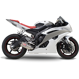 Yoshimura TRC Slip-On Exhaust - Titanium - 2009 Yamaha YZF - R6 Yoshimura R-55 Slip-On Exhaust - Stainless Steel