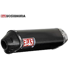Yoshimura TRC Slip-On Exhaust - Carbon Fiber - 2008 Yamaha YZF - R6S Yoshimura TRC Slip-On Exhaust - Carbon Fiber