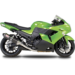 Yoshimura TRC Slip-On Exhaust - Carbon Fiber - 2010 Kawasaki ZX1400 - Ninja ZX-14 Akrapovic Slip-On Exhaust - Carbon Fiber