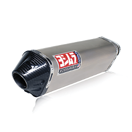 Yoshimura TRC Full System Exhaust - Titanium - Yoshimura R-55 Full System Exhaust - Stainless Steel With Carbon Fiber End Cap
