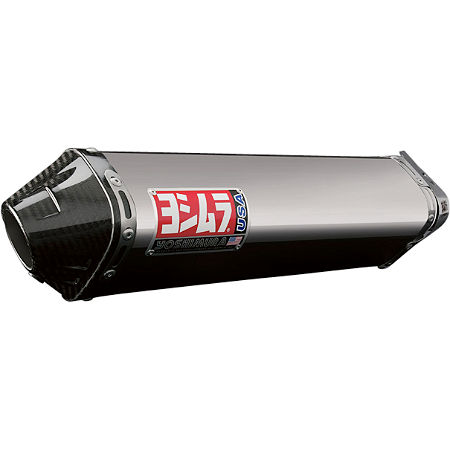 Yoshimura TRC Full System Exhaust - Stainless Steel With Carbon Fiber End Cap - Main
