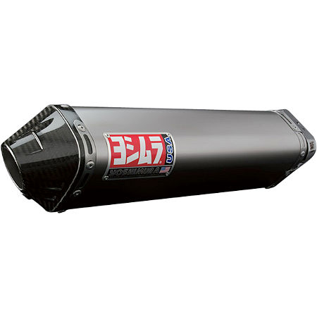Yoshimura TRC Full System Exhaust - Titanium With Carbon Fiber End Cap - Main