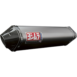 Yoshimura TRC Full System Exhaust - Titanium With Carbon Fiber End Cap - Yoshimura RS-3 EPA Compliant Slip-On Exhaust - Stainless Steel