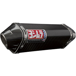 Yoshimura TRC Slip-On Exhaust - Carbon Fiber - Yoshimura R-55 Slip-On Exhaust - Stainless Steel With Carbon Fiber End Cap