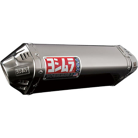 Yoshimura TRC Slip-On Exhaust - Stainless Steel - Main
