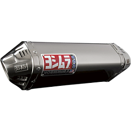 Yoshimura TRC Slip-On Exhaust - Stainless Steel - Yoshimura TRC Slip-On Exhaust - Stainless Steel With Carbon Fiber End Cap