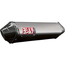Yoshimura TRC Slip-On Exhaust - Stainless Steel With Carbon Fiber End Cap - 2012 Honda CBR250R Yoshimura TRC Full System Exhaust - Stainless Steel