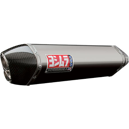 Yoshimura TRC-D Slip-On Exhaust - Stainless Steel With Carbon Fiber End Cap - Main