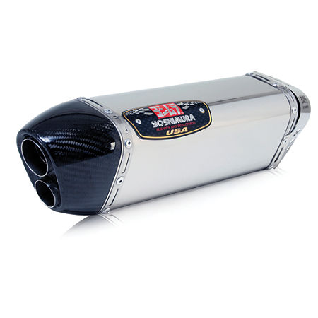 Yoshimura TRC-D Slip-On Exhaust - Stainless Steel Single Canister - Main