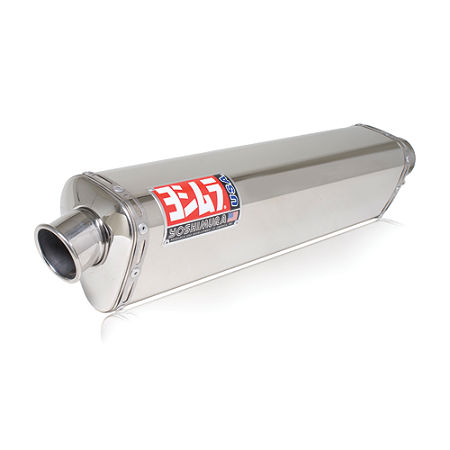 Yoshimura TRS Slip-On Exhaust - Stainless Steel Single Canister - Main
