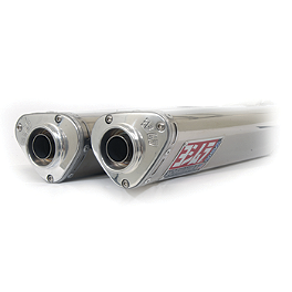 Yoshimura TRS Slip-On Exhaust - Stainless Steel - Jardine RT-1 Slip-On Aluminum Exhaust