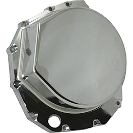 Yana Shiki Clutch Cover - Chrome - 2003 Suzuki GSX1300R - Hayabusa Yana Shiki LRC Mirror Block Off Caps - Chrome