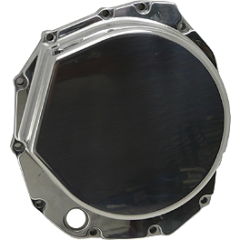 Yana Shiki Clutch Cover - Polished - 2007 Suzuki GSX1300R - Hayabusa Yana Shiki LRC Mirror Block Off Caps - Chrome