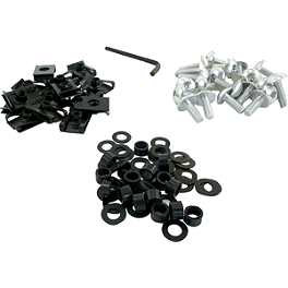 Yana Shiki Fairing Bolt Kit - Lockhart Phillips Carbon Inlay Slider Button Screws
