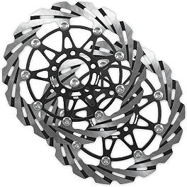 Yana Shiki Left & Right Front Rotor Combo - Driven Sport Series Motorcycle Brake Rotor - Front