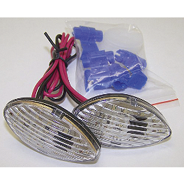 Yana Shiki Flush Mount Front LED Turn Signals - 2011 Honda CBR600RR ABS Yana Shiki Front Rotor - Right