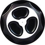 Yana Shiki Billet Gas Cap - Black - Suzuki SV650 Motorcycle Body Parts