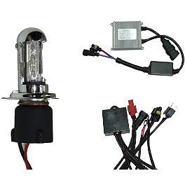 Yana Shiki HID High-Low Light Kit - 6000K - BikeMaster HID Light Kit - White 6000K