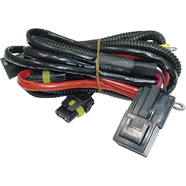 Yana Shiki Replacement Harness With Resistor For HID Kits - Yana Shiki Short Exotic Kickstand - Black