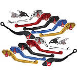 Yana Shiki Adjustable Folding Brake / Clutch Levers - Aprilia Dirt Bike Controls