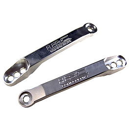 Yana Shiki Lowering Link - LRC Engraved - 2010 Kawasaki ZX1400 - Ninja ZX-14 Powerstands Racing Lowering Link - Stock - 3