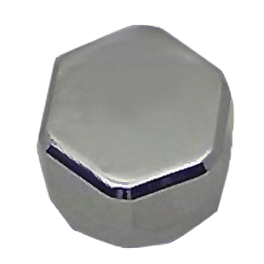 Yana Shiki Hex Oil Cap - Polished - Ride Engineering Oil Filler Cap